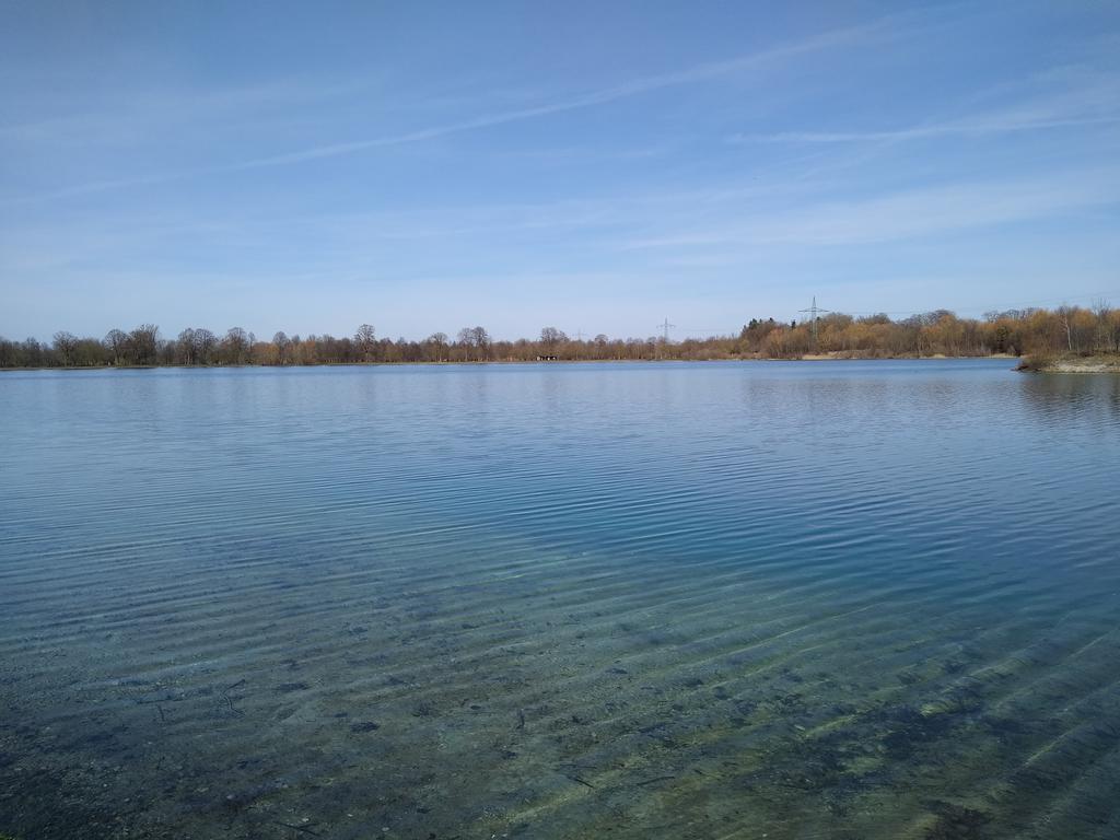 Blick auf den Lußsee, dem Nachbarn des Langwieder Sees