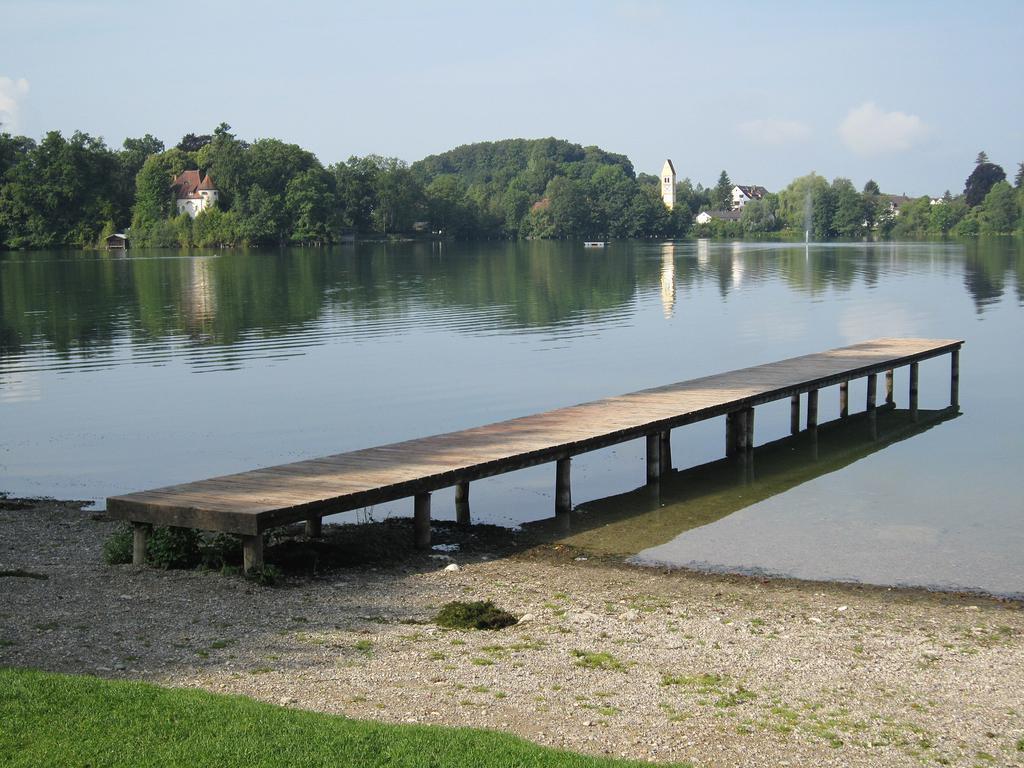 Blick über den Weßlinger See